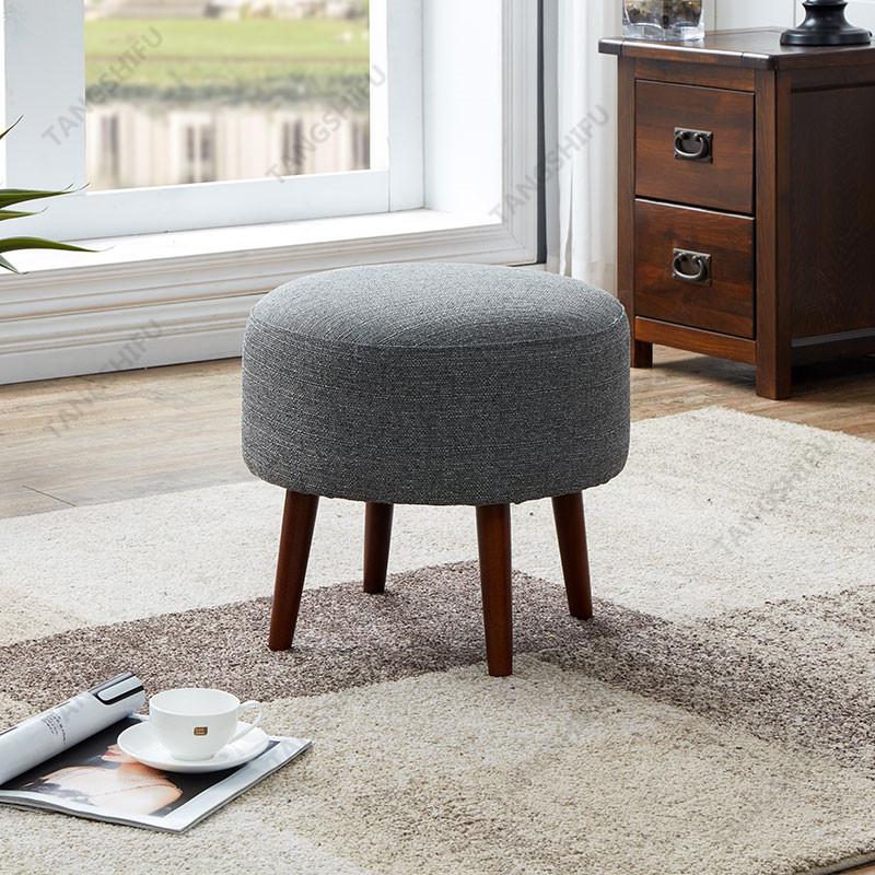 TSF-6803-Grey Ottoman Living room furniture