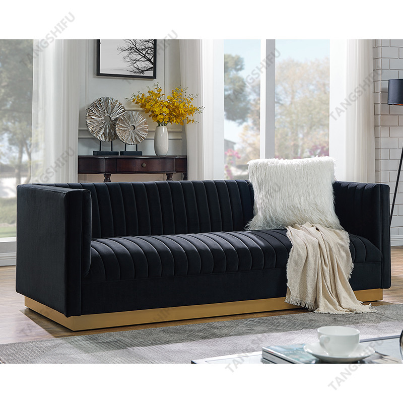 TSF-6611-3-Black 7033-32 Living room furniture