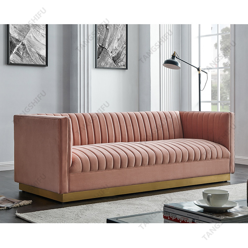 TSF-6611-3-Pink 7033-3151 Living room furniture