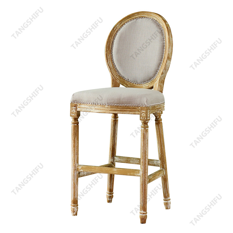 Participate in the production and shaping of wood barstools chairs with back