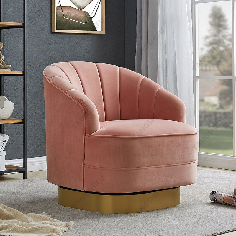 TSF-6642-Pink 7033-3151 Accent chairs