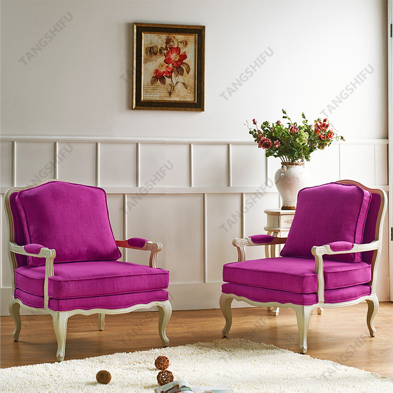 TSF-52348-Pink Accent chairs