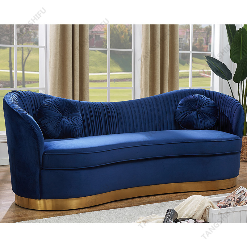 TSF-5510-Navy Gold-WI9265 Living room furniture