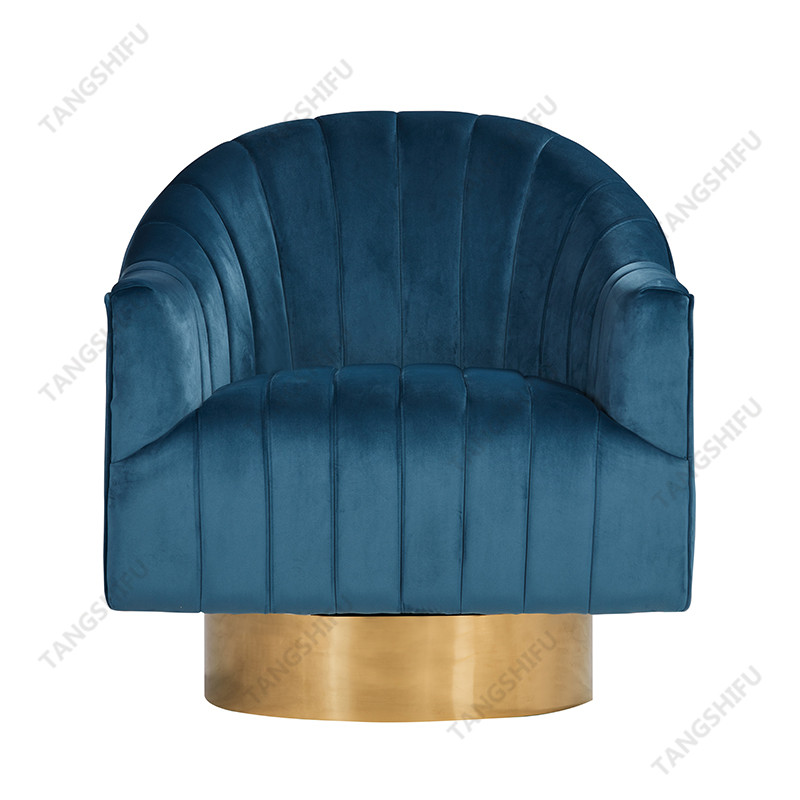 TSF-6629-Light Blue Accent chairs