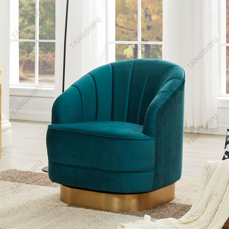 TSF-6642-CC-63 TEAL Accent chairs