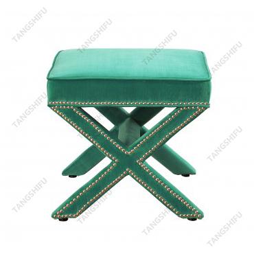 TSF-67213-Green Velvet Living room furniture
