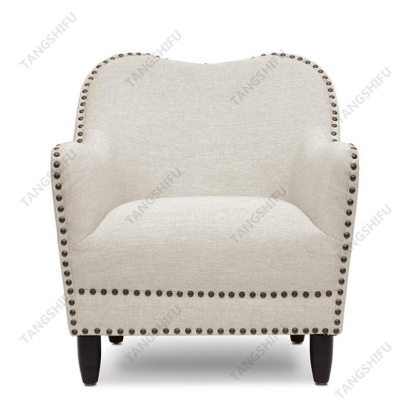 TSF-7205-Beige Accent chairs