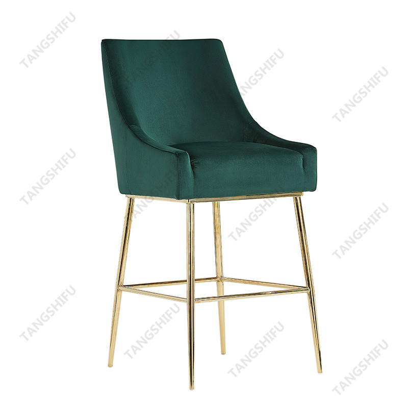 TSF-BS5512 The ornamental bar stool can be used to decorate living room, dining room or bedroom. These ounter stools are beautiful and practical furniture.