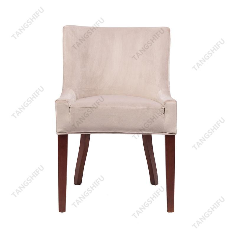 TSF-D035-Grey Velvet Dining Chairs
