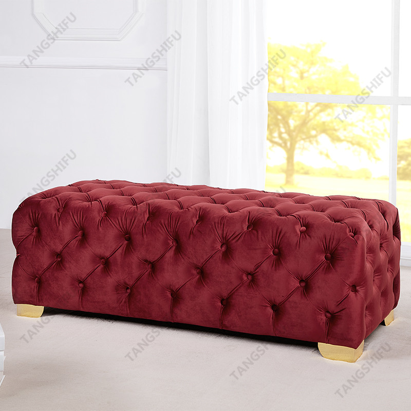 TSF-OT028-Burgundy-WI9367 Living room furniture