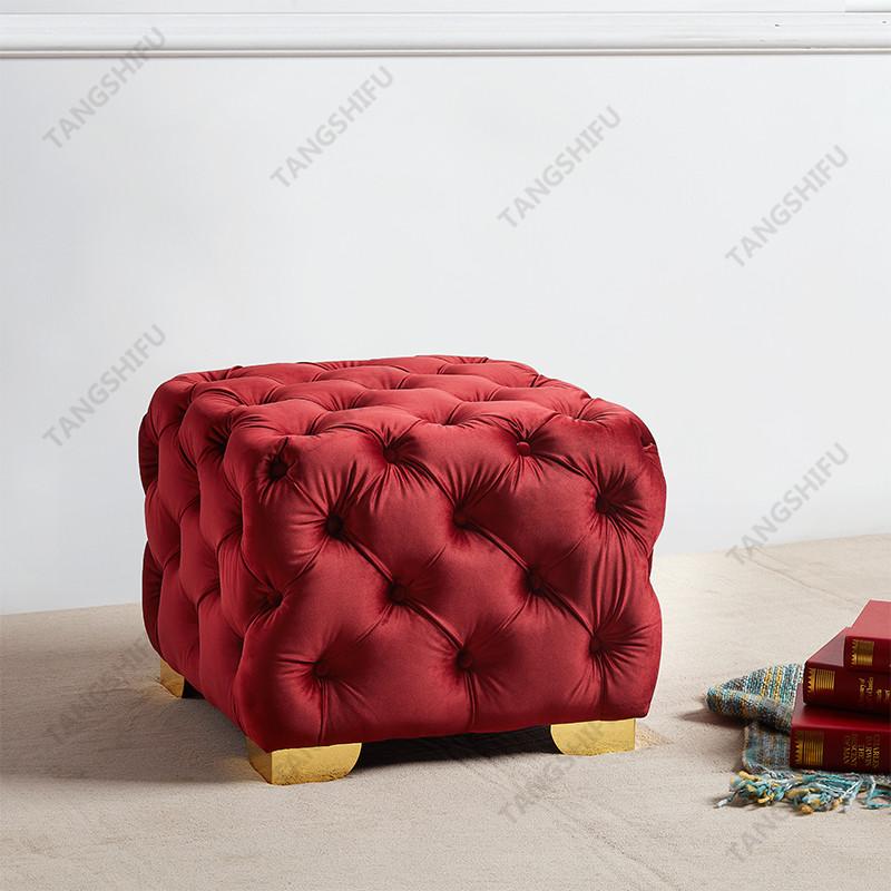 TSF-OT029-Burgundy-WI9372 Living room furniture