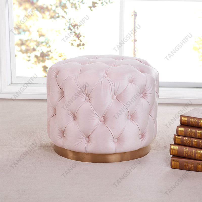 TSF-OT030-Light Pink-WI9378 Living room furniture