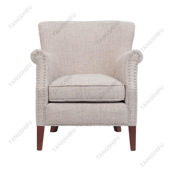 TSF-8010-Beige Accent chairs