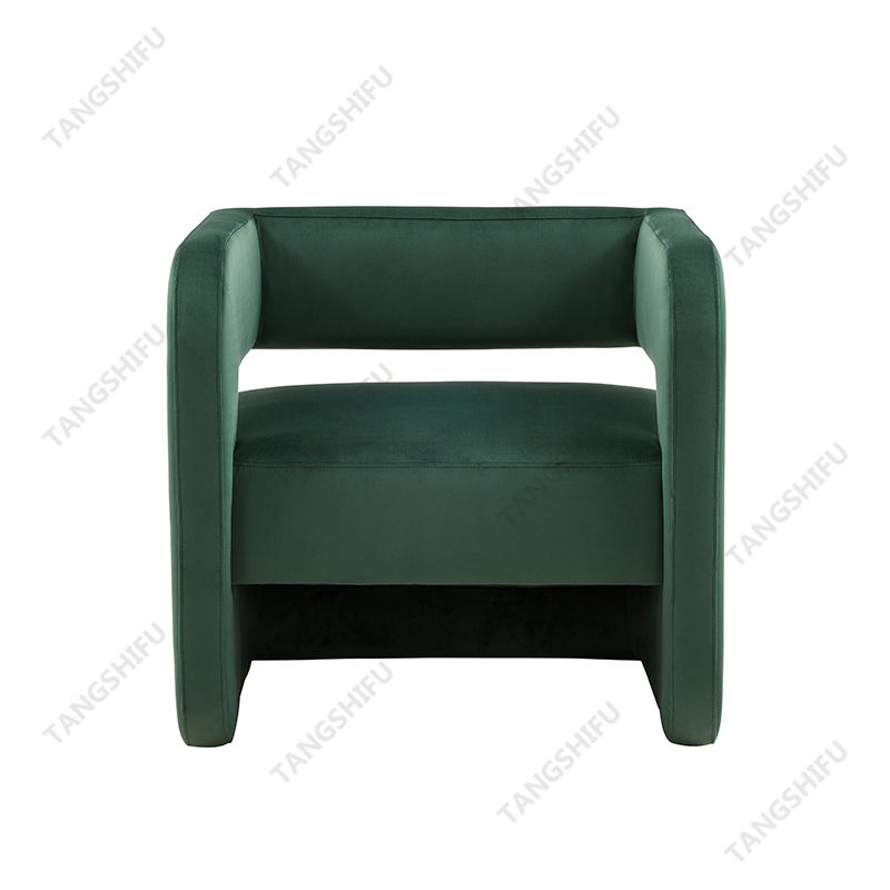 TSF-6651A-A Dark Green Velvet Accent chairs